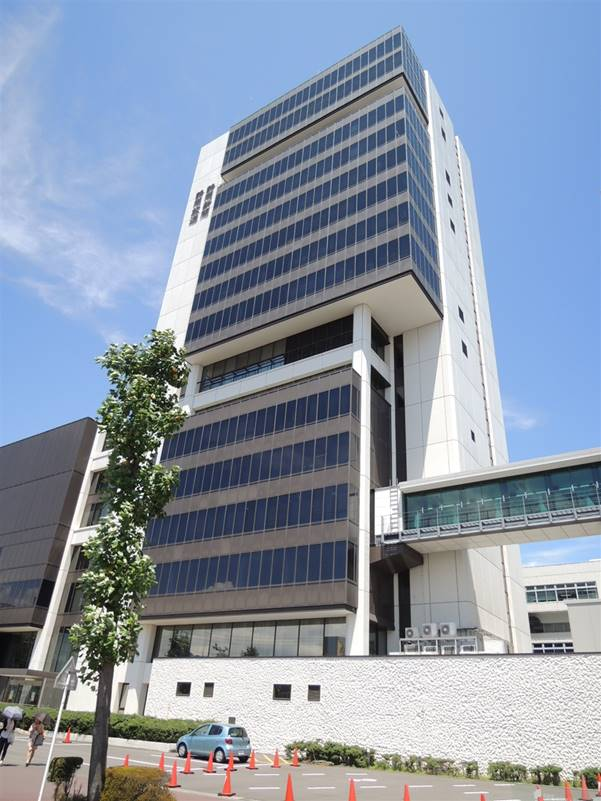 静岡新聞放送会館本館